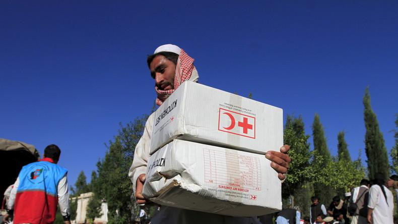 Nach monatelangem Verbot durch die Taliban nimmt Rotes Kreuz Arbeit in Afghanistan wieder auf