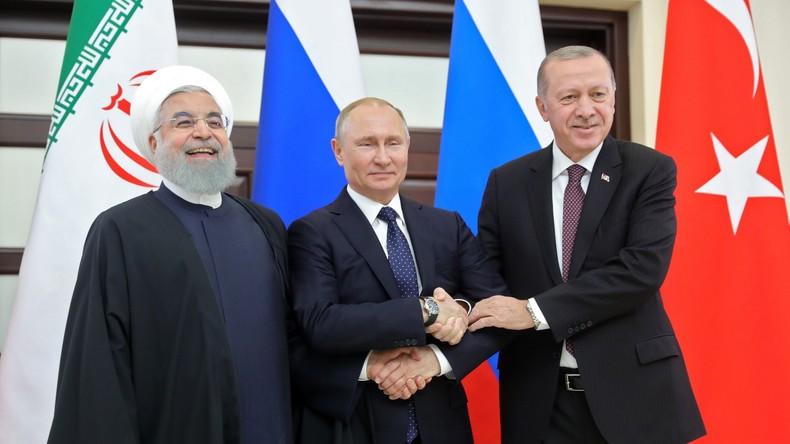 Putin reist zur Teilnahme an trilateralem Syrien-Gipfel nach Ankara