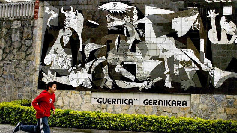 "Fauxpas der UN: Picasso malte ""Guernica"" angeblich aus Protest gegen ""Gräueltaten der Republik"""
