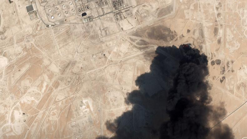 """""""Einzigartiger Angriff auf Energieversorgung"""": USA sehen Iran hinter Attacke auf Raffinerie (Video)"""