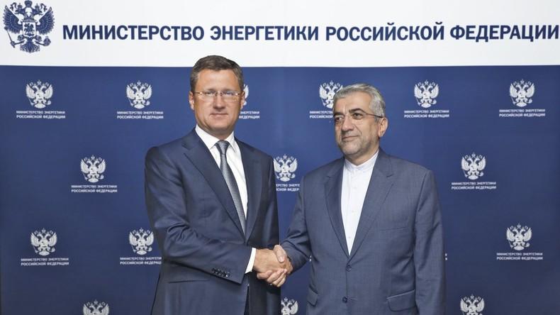 Iran erhält Milliardendarlehen von Russland für den Bau eines Megakraftwerks
