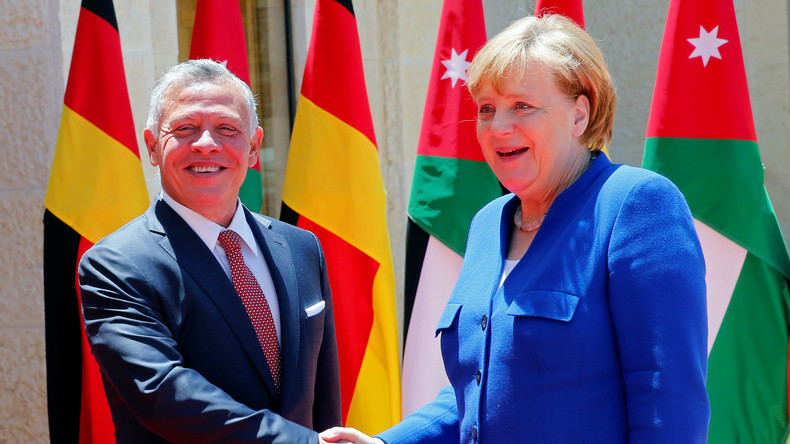 LIVE: Merkel und Jordanischer König geben Pressekonferenz in Berlin