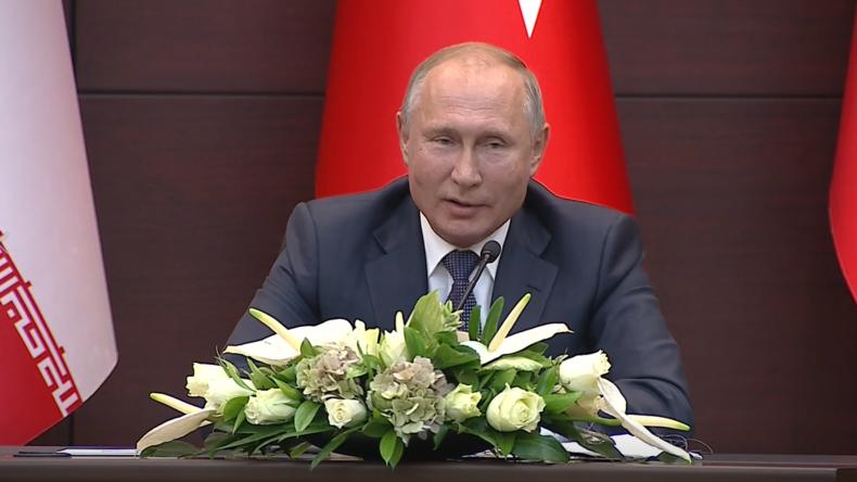 Putin: Iran und Türkei kauften klugerweise unser Abwehrsystem - Hätte auch Saudi-Arabien geschützt