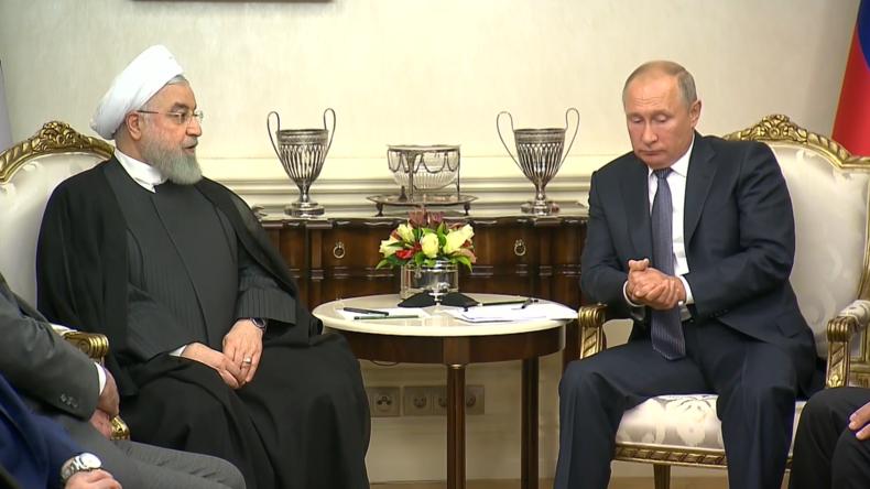 Rohani zu Putin: Unsere Zusammenarbeit ist angesichts der US-Hegemonie sehr wichtig