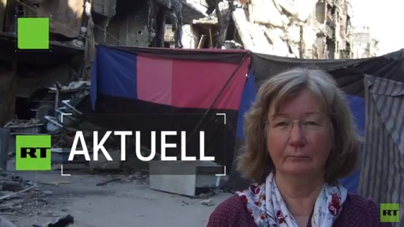 Karin Leukefeld: Immer mehr Flüchtlinge kehren nach Syrien zurück