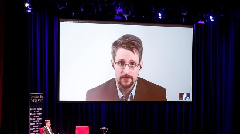 Edward Snowden präsentiert in Berlin sein neues Buch per Videokonferenz