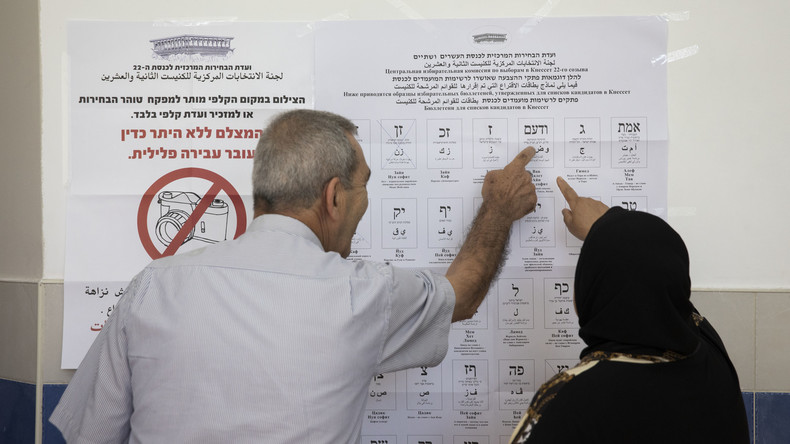 Erste Wahlergebnisse aus Israel: Knappes Rennen zwischen Netanjahu-Partei und Opposition