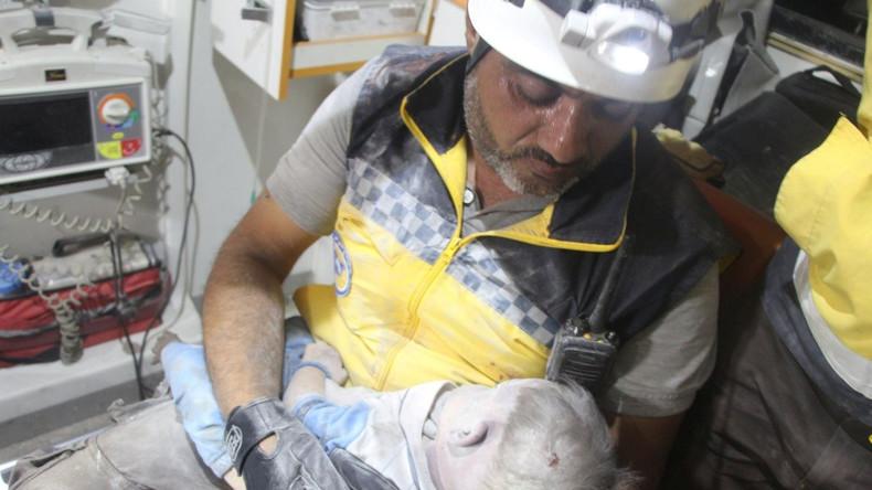 NGO-Studie: Weißhelme verbreiten Falschinformationen über Syrien