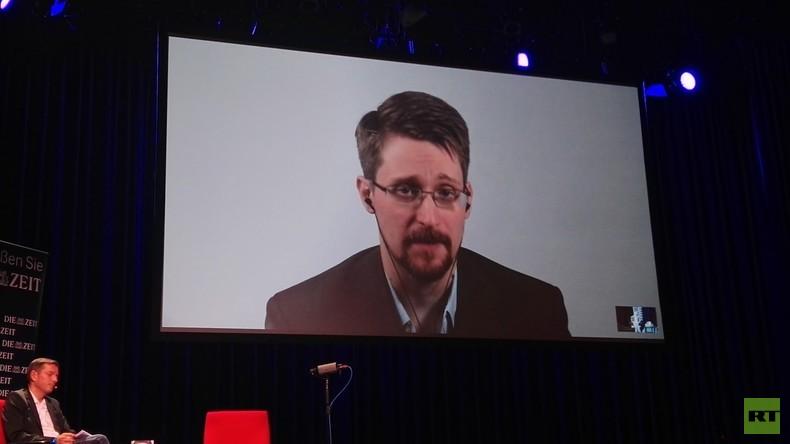 Edward Snowden in Berlin: Die Russen hatten genauso viel Angst vor mir wie ich vor ihnen
