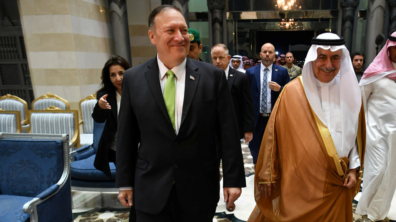 """""""Akt des Krieges"""": US-Außenminister macht Iran für Angriff auf saudische Ölanlagen verantwortlich"""