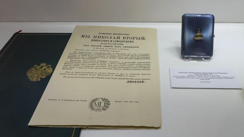 Moskau dankt Washington für Rückgabe historischer Dokumente mit Bezug zum letzten russischen Zaren