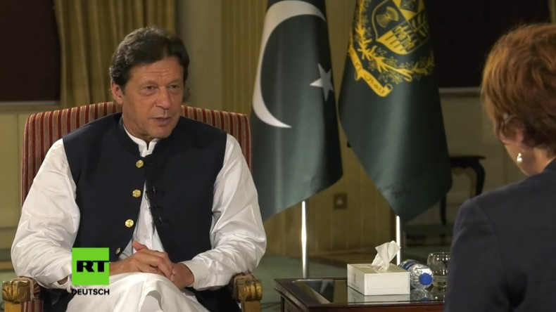 Pakistans Premier Imran Khan: US-Intervention hat mein Land destabilisiert (Video)