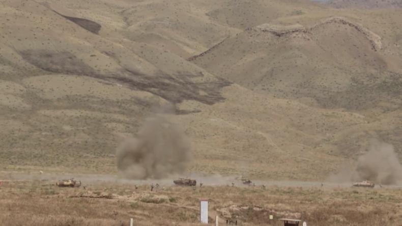 """Multinationale Militärübung """"Zentr-2019"""" – Eliminierung von Feinden in Russland und Tadschikistan"""
