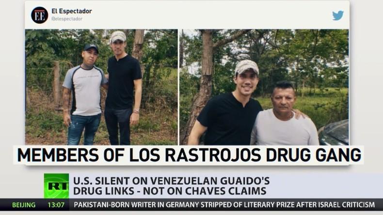 """Guaidós Verbindung zu kolumbianischen Drogenkartells: Für westliche Medien """"alles halb so wild"""""""