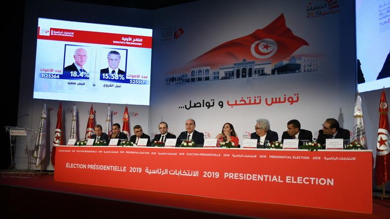 """""""Tunesiens Berlusconi"""" und """"Robocop"""" – Zwei Newcomer gehen in Stichwahl ums Präsidentenamt"""