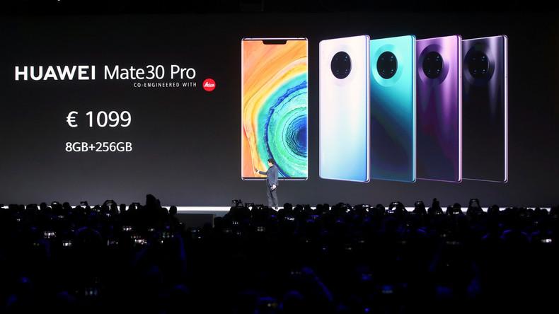Huawei stellt neues Top-Smartphone ohne Google-Dienste vor