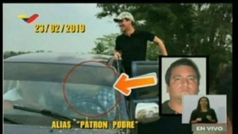 """Es wird eng für Guaidó: Neue Fotos zeigen """"Interimspräsidenten"""" im Auto von Drogenkartell-Boss"""