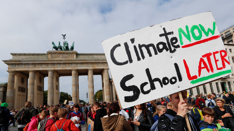 LIVE: Klimastreik in Berlin