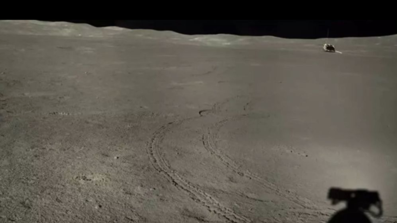 China veröffentlicht Fotos von der Erkundung der Rückseite des Mondes