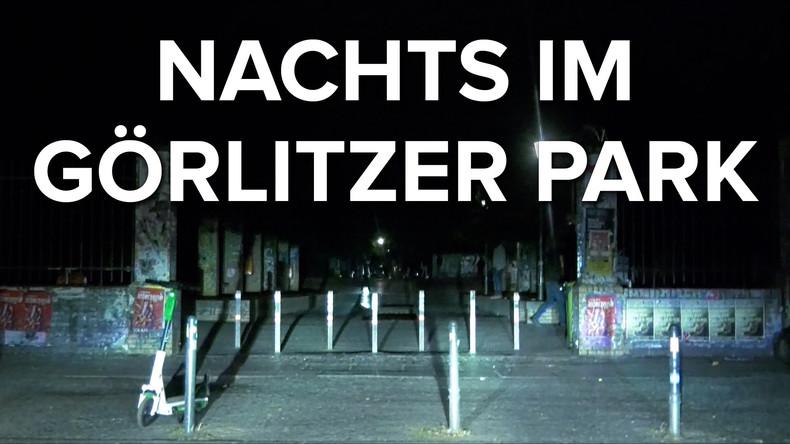 Nachts im Görlitzer Park: Unterwegs in der wohl größten Drogenverkaufsfläche Europas (Video)