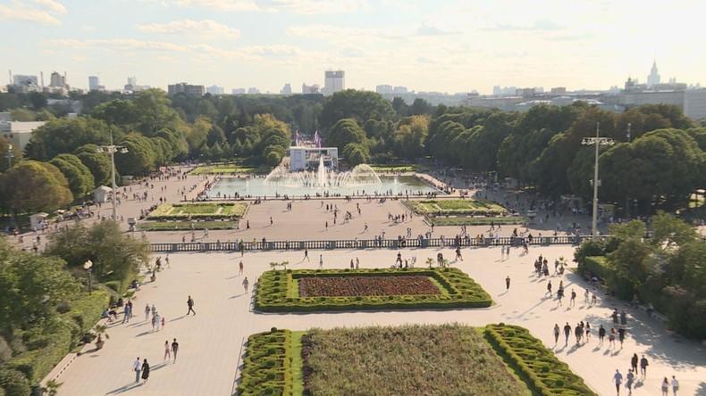 """Einmal in Russland: """"Fabrik der Glücklichen Menschen"""" – Der Gorki-Park in Moskau"""