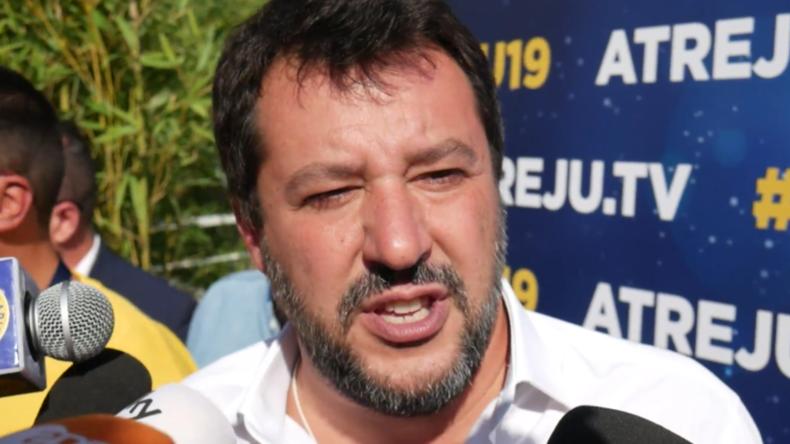 Italien: Salviniattackiert derzeitige Regierung bei rechtskonservativer Tagung