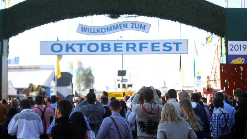 O'zapft is: Eröffnung des Oktoberfestes in München (Video)