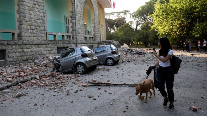 Über 100 Verletzte bei Erdbeben in Albanien