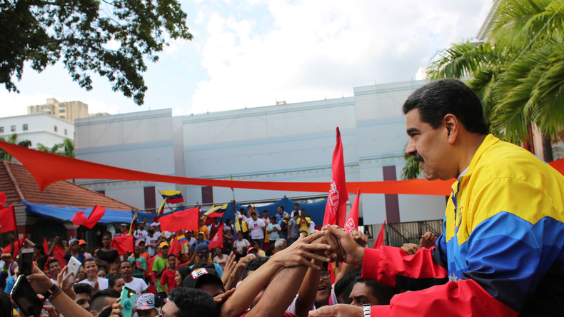 Maduro dankt Russland für Unterstützung der venezolanischen Souveränität