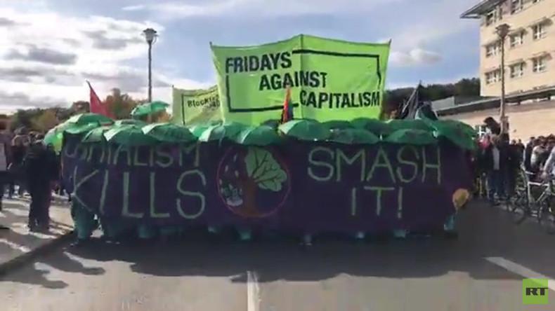 Klima-Demo in Berlin: Demonstranten rechnen mit der Politik der Grünen ab