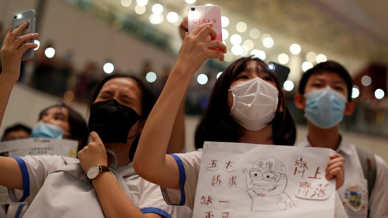 Hongkong: Innerhalb von drei Monaten mehr als 1.500 Menschen festgenommen