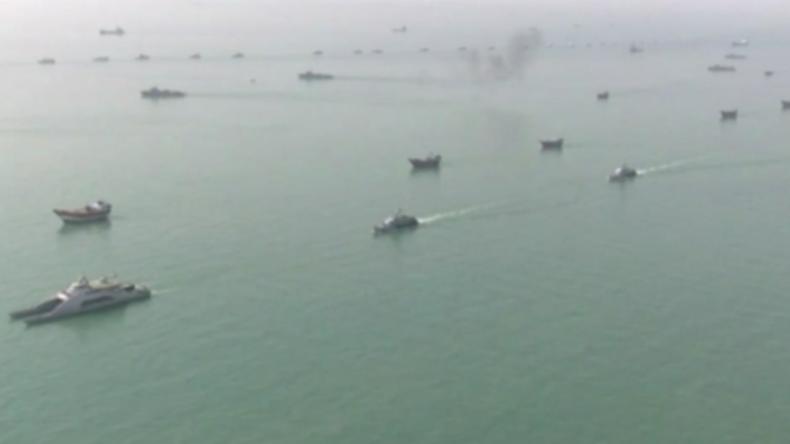 """""""Woche der Heiligen Verteidigung"""" – Iran startet massive Marineübung nahe der Straße von Hormus"""