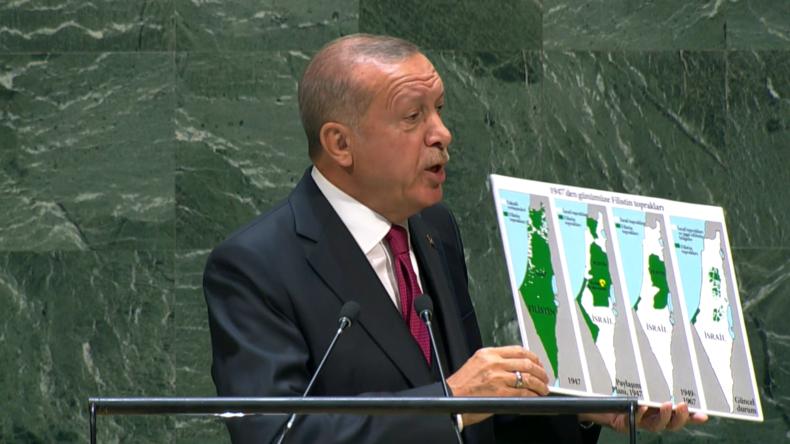 UN-Generalversammlung: Erdoğan attackiert Israel – Netanjahu antwortet per Videonachricht