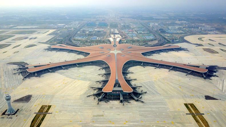 Peking eröffnet offiziell neuen Mega-Flughafen