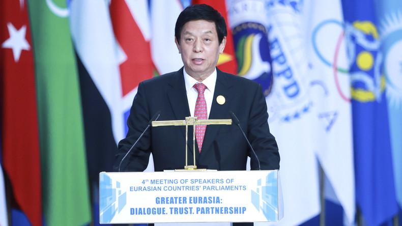 Chinesischer Parlamentschef: Wollen Zusammenarbeit mit eurasischen Staaten stärken