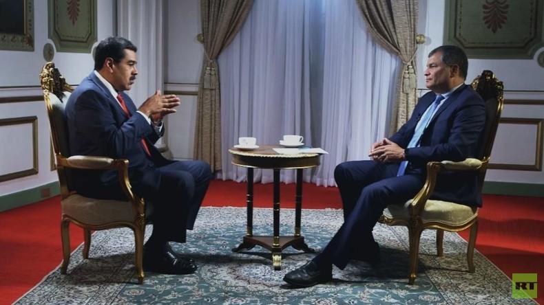 """Nicolás Maduro im Interview: """"Es gibt ein Venezuela der Medien und ein echtes Venezuela"""" (Video)"""