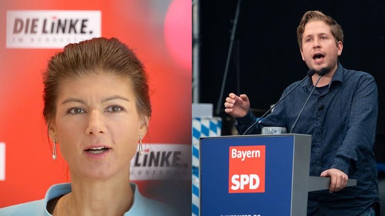 """LIVE: """"Unser Land verändern! Aber wie?"""" - Debatte mit Sahra Wagenknecht und Kevin Kühnert"""