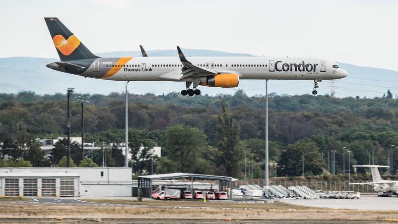 Staatshilfe für Charterfluggesellschaft Condor – Deutsche Thomas Cook stellt Insolvenzantrag