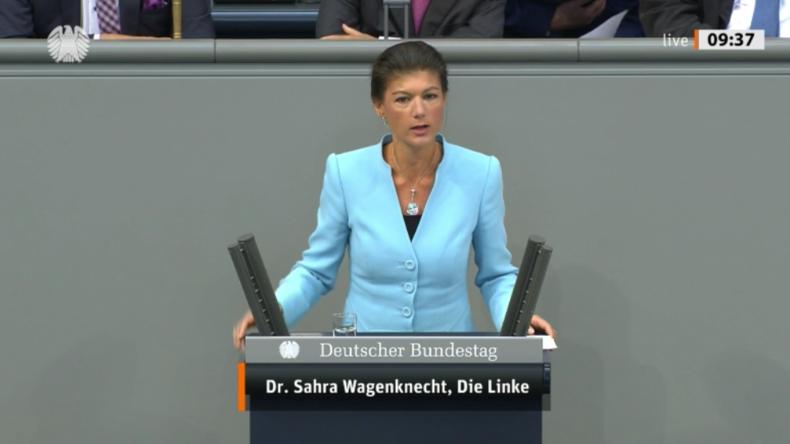 Wagenknecht: Pure Heuchelei – Null Konsequenz für Klimakiller-Konzerne, Bürger sollen Zeche zahlen