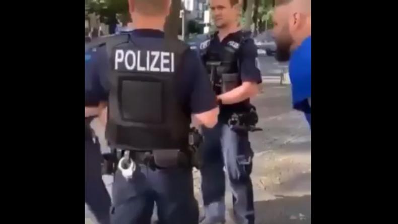 Gossensprache bei Polizeikontrolle: Rapper Fler beleidigt unentwegt Polizisten und erntet Shitstorm