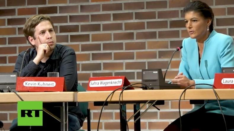 Wagenknecht und Kühnert debattieren: Das Land verändern! Aber wie? (Video)