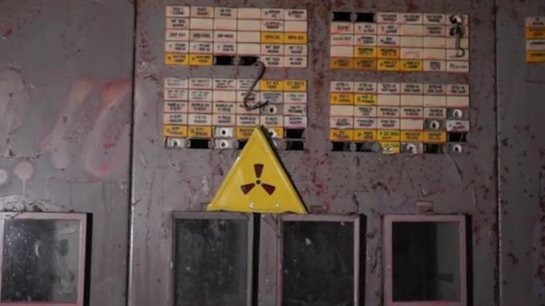 Ukraine:Im Inneren derradioaktiven Ruinen des Tschernobyler Reaktors Nr. 4