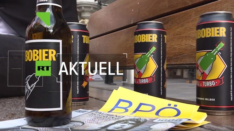Neue Bierpartei will Österreichs Parteienlandschaft aufmischen
