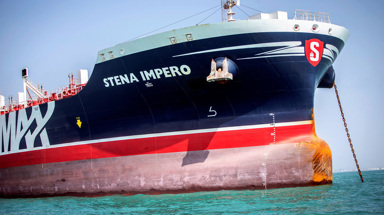 """Beschlagnahmter britischer Tanker """"Stena Impero"""" verlässt iranischen Hafen"""