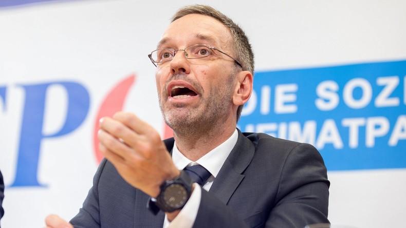 """Wahlkampfabschluss der FPÖ: """"Staatsfeind Nr. 1"""" Herbert Kickl will erneut Innenminister werden"""
