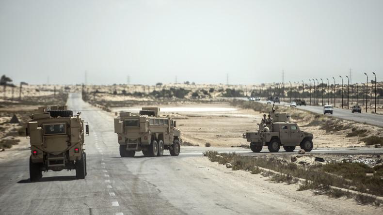Drei ägyptische Soldaten sterben bei IS-Angriff in Nordsinai