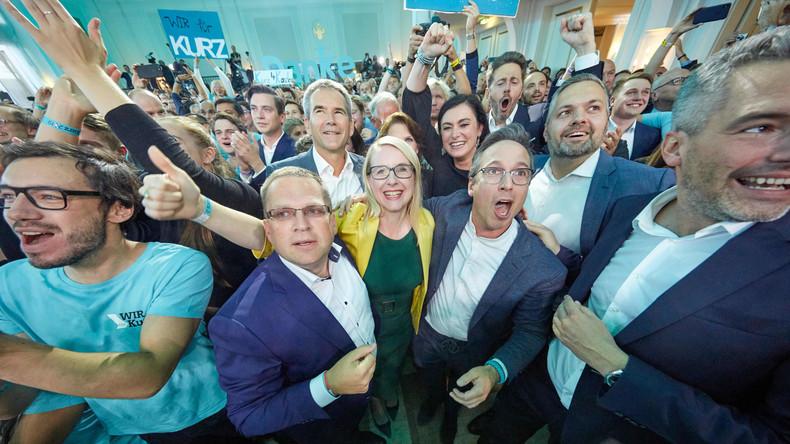 Österreich-Wahl: Gewinner Kurz will mit allen Parteien reden, FPÖ will keine Regierungsbeteiligung