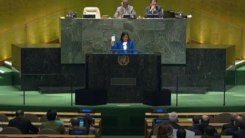 Venezuela bei den UN: USA betreiben Terror mit ihren Banken und bereiten Angriff vor