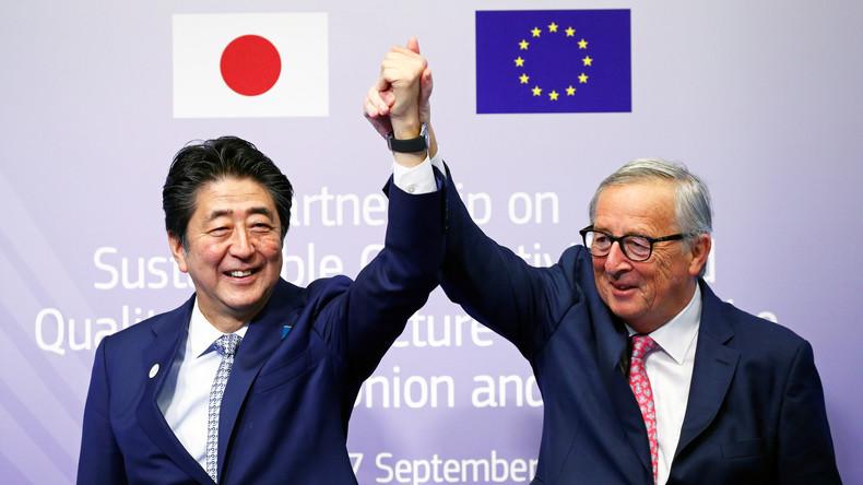 Nicht alles der Seidenstraße überlassen: EU und Japan schließen Konnektivitätsvereinbarung ab
