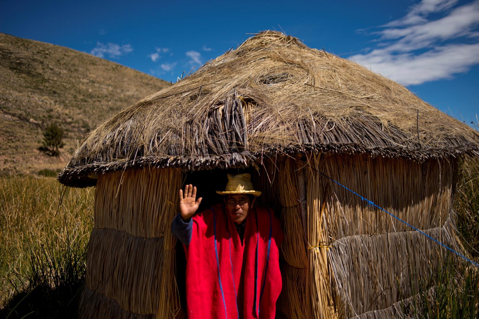 Isaac Callizaya ist am Ufer des Titicacasees aufgewachsen